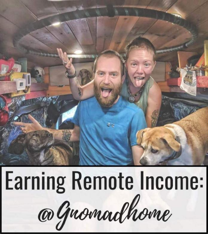 gnomad home earning remote income