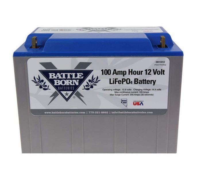 review battleborn lithium 100ah battery