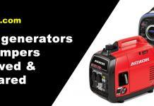 Quiet generators for campers reviewed & compared